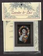 Lavender & Lace Counted Cross Stitch Chart Lady of the Thread Sealed Unused