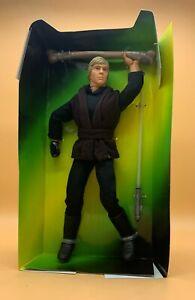"""1997 Star Wars Luke Skywalker Jedi Knight 12"""" Kenner Action Figure"""
