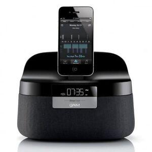 Gear4 Renew SleepClock Speaker Alarm Charging Dock Station for iPhone iPad 4S