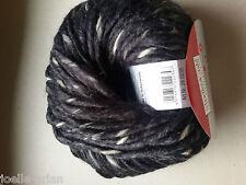 10 pelotes lana gruesa muy dulce - color negro