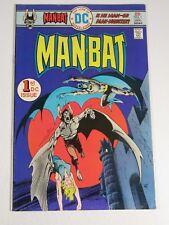 Man Bat #1 (DC Comics 1975) 1st She-Bat FN