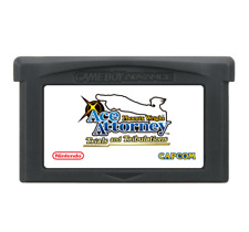 Phoenix Wright: Ace Attorney Trials and Tribulations ENGLISH Gameboy Advance GBA
