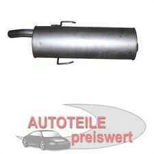 Endschalldämpfer PEUGEOT 205 I II + Cabrio Auspuff NEU