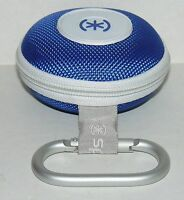 Speck Headphones Carrying Case for In Ear Buds Style Earphones Skullcandy Blue