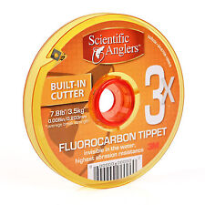 $43 SCIENTIFIC ANGLERS FLUOROCARBON 5X 4.7 LB FRESHWATER 100M TIPPET GUIDE SPOOL