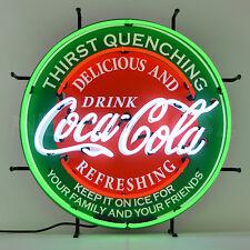 Coca Cola Evergreen Neon sign Licensed Neonetics Coke Wall lamp light Ever green