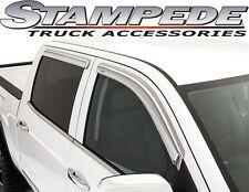 Stampede 6171-8 Chrome Tape-Onz Window Visors Vents 07-14 Ford Edge MKX 4 door