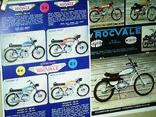 FAC SIMILE 1994  PROSPECTUS  CYCLOMOTEURS ROCVALE CYCLO SPORT 1973/75