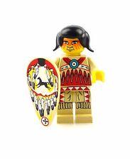 #e6281 Lego Minifigur Western Indianer mit Schild * 6748 * 6746 * 6766 * 6763 *