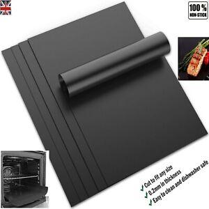 Non stick OVEN LINER Protector Teflon Sheet HeavyDuty Reusable Baking Bottom Mat