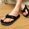 Summer Mens Casual Flat Wedge Sandals Thong Flip Flops Slippers Beach shoes