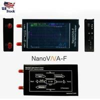 """Vector Antenna Network Analyzer 4.3"""" 50K-1.5GHz NanoVNA-F VNA VHF UHF W/ Case"""