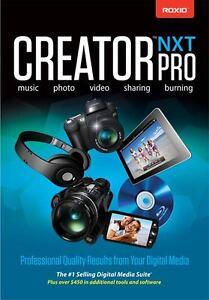 Roxio Creator Pro NXT3 dvd