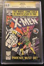 Uncanny X-Men #137 CGC 6.0 SS Stan Lee Signed WP 1980 Death of Phoenix Claremont