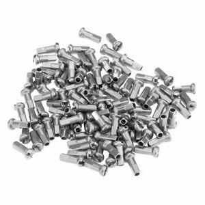 Dt swiss spoke nipple brass 12mm 2.0 silver 100 pieces
