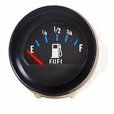 Faira Black 2 1/8 Inch Marine Boat Fuel Gauge