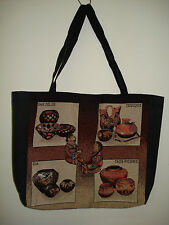 New Mill Street Design Tapestry Canvas Tote Bag  Pottery