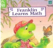 Franklin Learns Math Ages 4-7 teaches math skills CD Rom