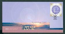 NEW ZEALAND FDC 1999 LAST SUNSET KIWI $1 ROUND (ID:F1596)