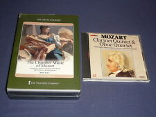 Teaching Co Great Courses CDs       THE CHAMBER MUSIC of MOZART      new + BONUS
