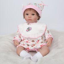 Realistic bebe Reborn Baby  Lifelike Cheap Soft Vinyl Silicone Newborn Doll CA