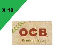 Ocb Courte Double chanvre Bio carnets de Feuille a rouler