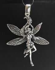 Sterling Silver Pendant Solid 925 FAIRY PE000676 EMPRESS