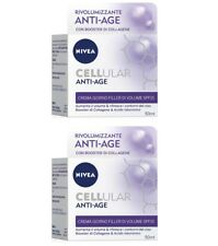 2 pcs. NIVEA CELLULAIRE REMPLISSANTE Anti-âge crème pour le visage jour SPF 15