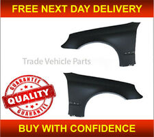 MERCEDES C CLASS W203 2001-2007 FRONT WING PAIR LEFT & RIGHT PRIMED NEW APPROVED