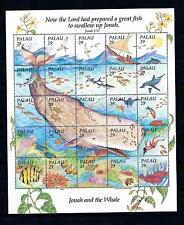 [56496] Palau 1993 Marine life Jonah and the whale MNH Sheet