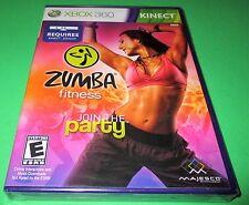 Zumba Fitness Microsoft Xbox 360 *Factory Sealed! *Free Shipping!