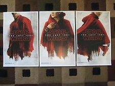 """Star Wars The Last Jedi (11"""" x 17"""") Movie Collector's Poster Prints ( Set of 3 )"""