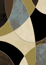 """Abstract Contemporary 8x11 Geometric Area Rug Modern Carpet - Actual 7'8""""x 10'4"""""""