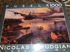 Fink & Co Nicolas Trudgian Wings of War 1000 Piece Puzzle Safe Haven NEW