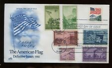 SPECIAL SALE US First Day COMBO Cover (American Flag) 1988 Yosemite, Calif