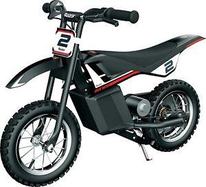 Razor Dirt Rocket MX125 Electric Dirt Bike - Black