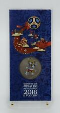 Russia 2018 - 25 Rubles Coin Sealed in blister - FIFA World Cup 3nd Series Coin