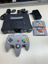 Nintendo 64 N64 Console System w/ Controller & Cables + Games *FULLY FUNCTIONAL*