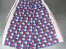 Boys Sz Med 12-14 Flow Society Lacrosse Shorts Red White Blue