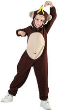 Colourful Monkey Fancy Dress Party Costume - Age 7-9 Years