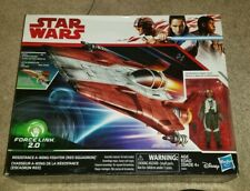 Star Wars -Force Link 2.0 - Last Jedi - Red A-WING starfighter - Hasbro - New