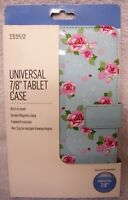 "Tablet Case Butterfly Double Magnetic Clasp Built in Stand 7/8"" Universal"