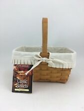 Longaberger 1997 Spring Basket Combo Natural