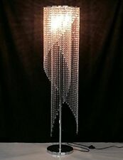 Modern Crystal Floor Lamp Contemporary Raindrop Light Designer Lighting Gift NEW