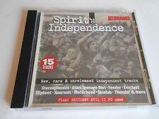 Kerrang Spirit Of Independence CD Compilation 15 Tracks Rare Unreleased Tracks
