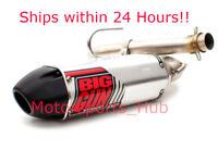 Big Gun EXO Slip On Exhaust Pipe Muffler Yamaha Kodiak Grizzly 550 700 EPS 8-14