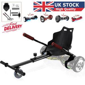 Black Hoverkart Go Kart For Segway Balancing Board Hoverboard Scooter Hover Cart