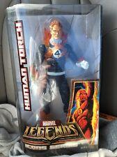 """Marvel Legends Icons Human Torch 12"""" Blue Suit Figure/Fantastic Four/Comics"""