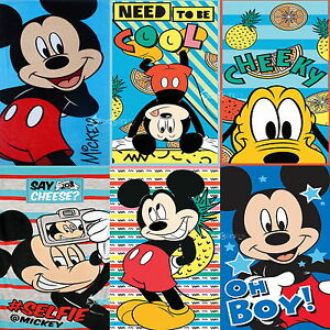 Official Disney Mickey Mouse & Friends Beach Bath Cotton Towel New Gift 7 Design