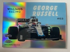 2020 Topps Chrome Formula 1 1954 World On Wheels GEORGE RUSSELL #54W-15 Williams
